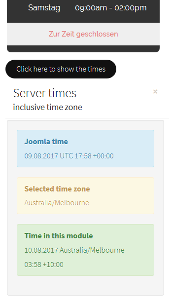 mod itcs openhours time frontend